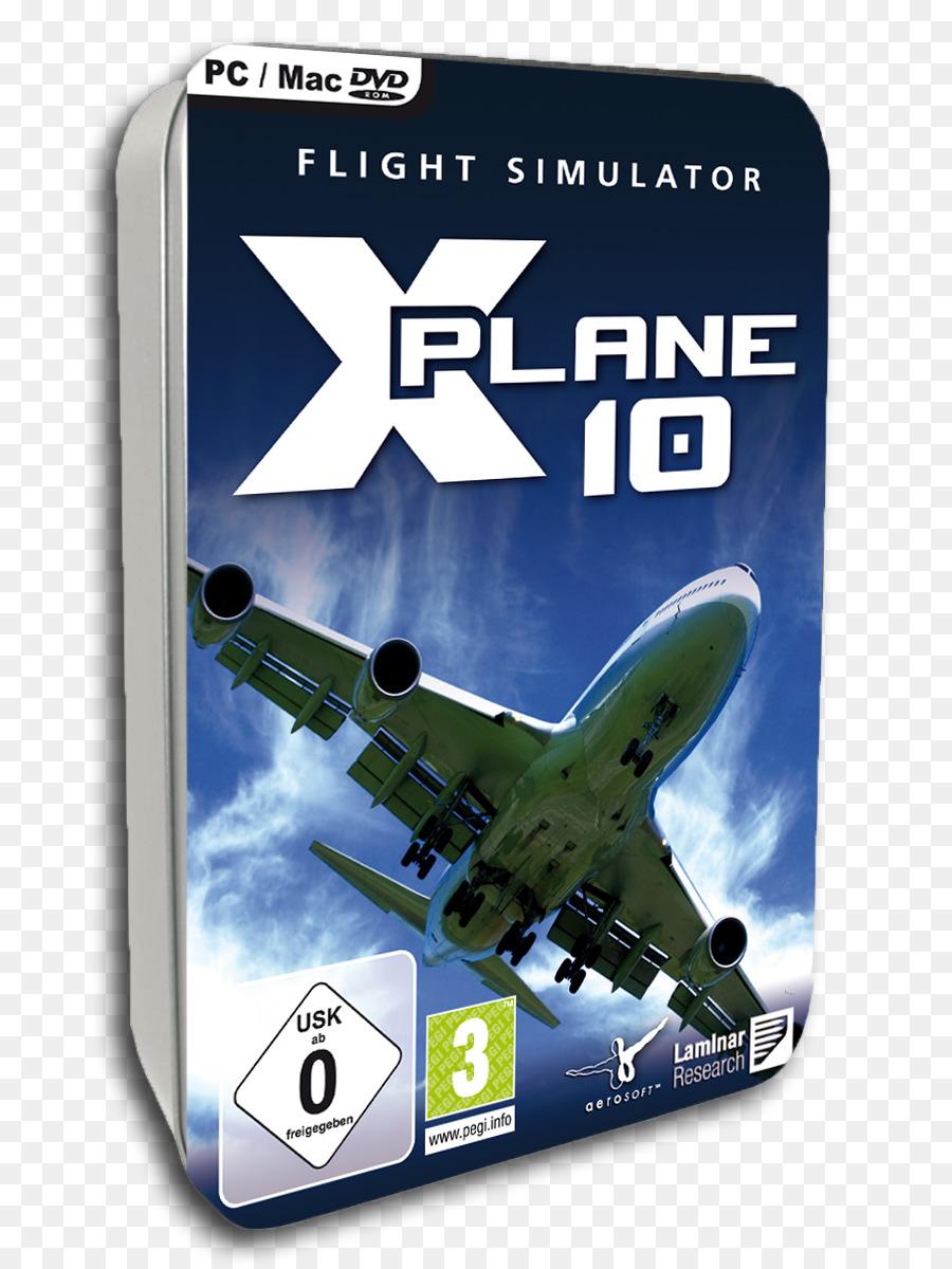 Microsoft Flight Simulator X X-Plane 10 Global - 64 Bit