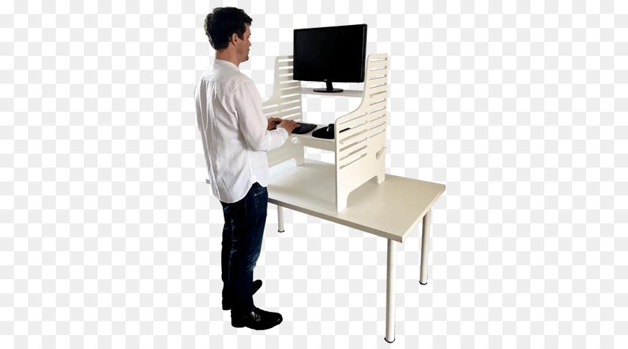 Un bureau permanent permanent de bureau fournitures de bureau