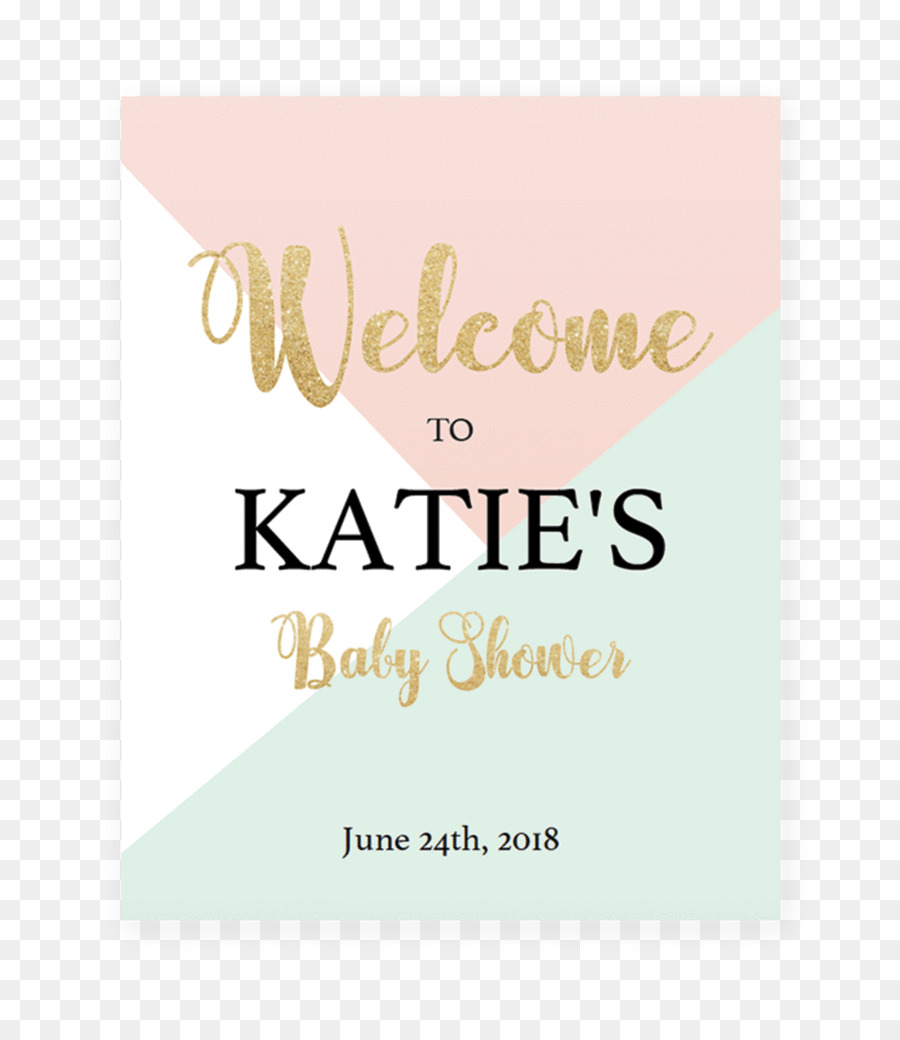 Baby Shower Greeting Note Cards Infant Bridal Shower Party Gold