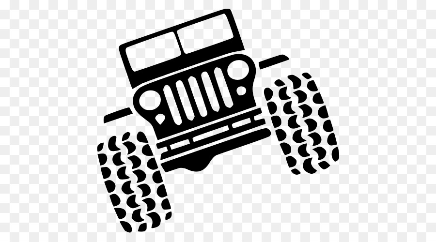 Jeep Wrangler Rubicon Car Silhouette Jeep Png Download 500500