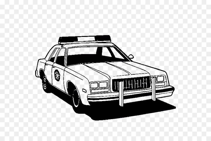 Auto Della Polizia Di Libro Da Colorare Di Auto Di Lusso Auto