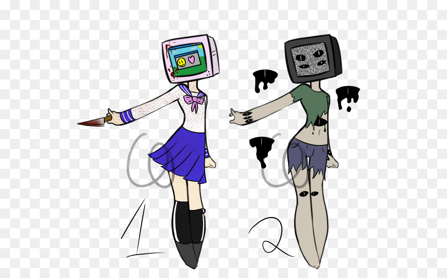 Television Aesthetics And Style Art Drawing Sketch Design Png