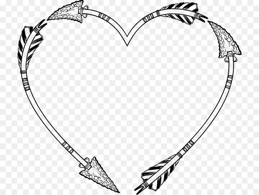 Heart Picture Frames Arrow Clip art - heart png download - 780*680 ...