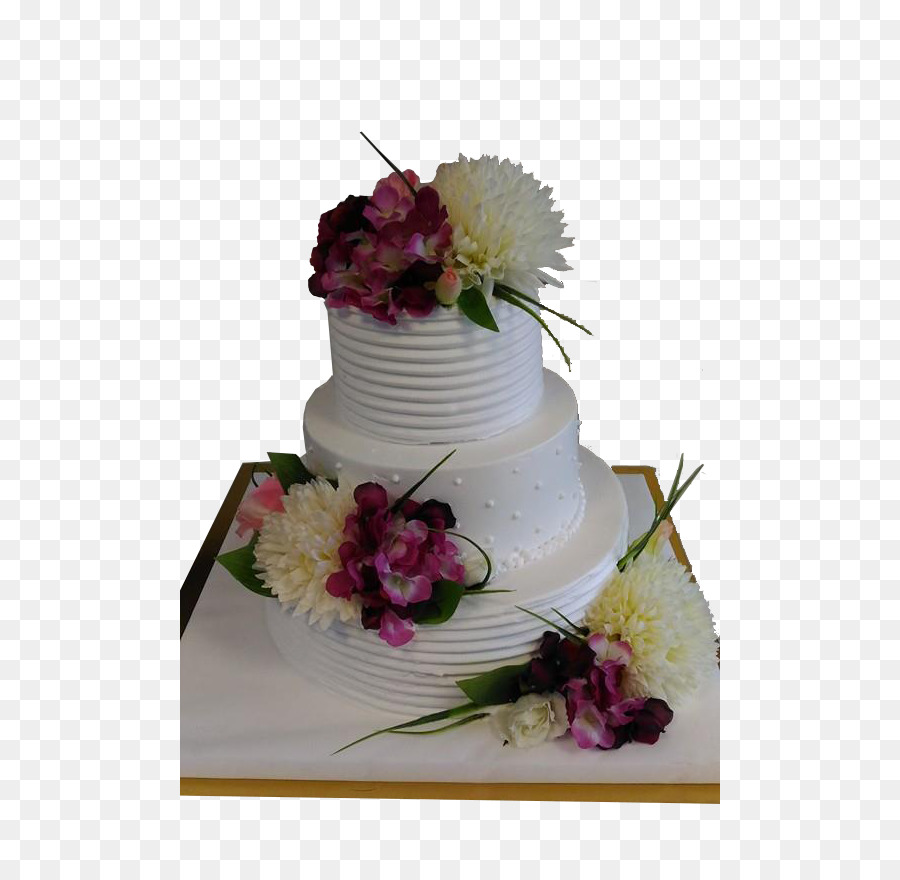 Wedding Cake Floral Design Sugar Cake Cut Flowers Wedding Cake Png