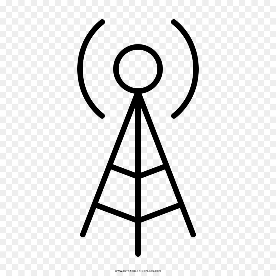 Aerials Drawing Telecommunications tower Photography Television ...