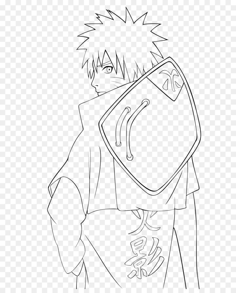 Line Art Drawing Pencil Coloring Book Naruto