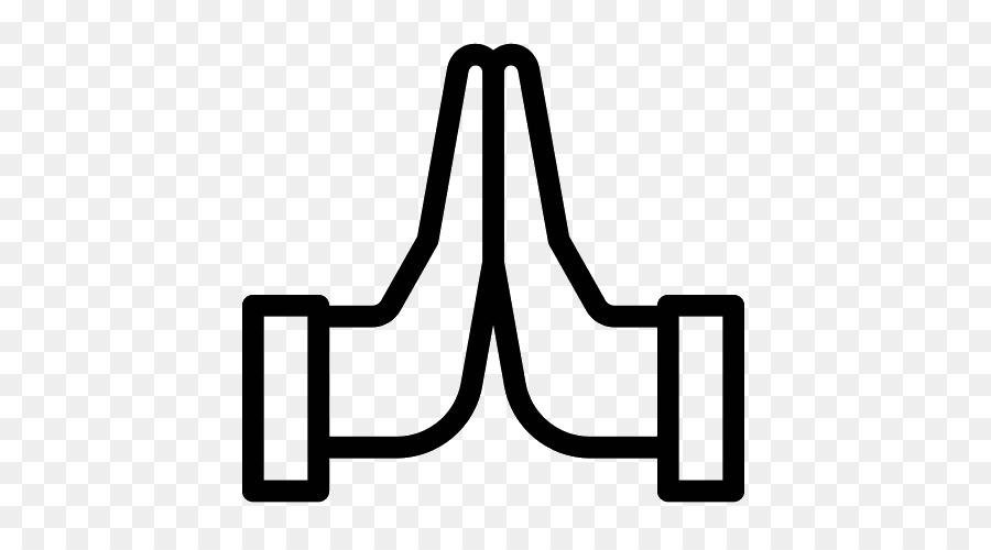 Computer Icons Prayer Symbol Praying Hands Symbol Png Download