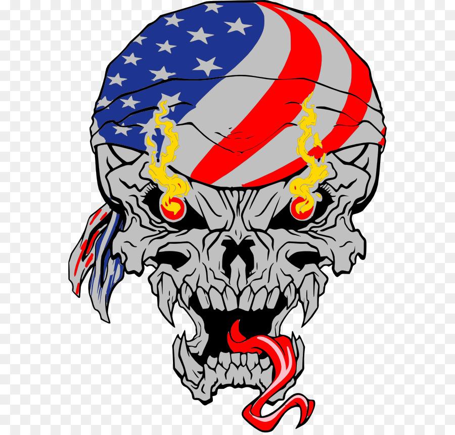 Skull & Bones Logo Metal Car - skull png download - 630*855 - Free ...