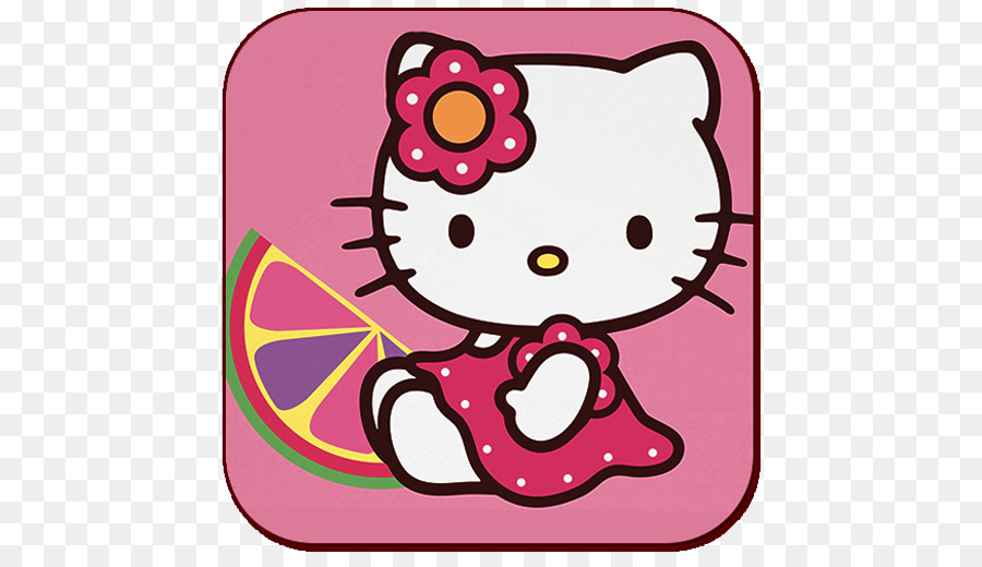 Hello Kitty Mural Drawing Wallpaper Others Png Download 512 512