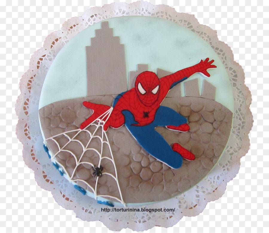 Torte Geburtstagstorte Spider Man Rezept Spiderman Kuchen Png
