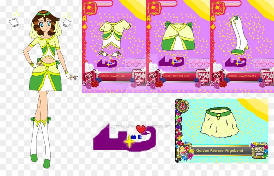 Aikatsu! Card game Video game Pretty Cure - cadr 1024*650 transprent Png  Free Download - Green, Purple, Cartoon.