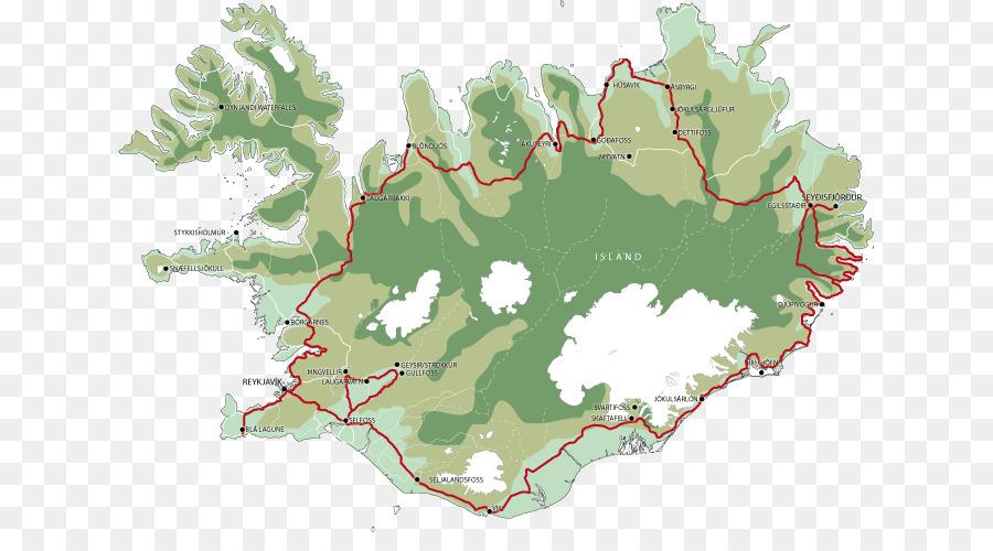 Reykjavik Seyðisfjörður Road map Guide to Iceland - golden circle ...