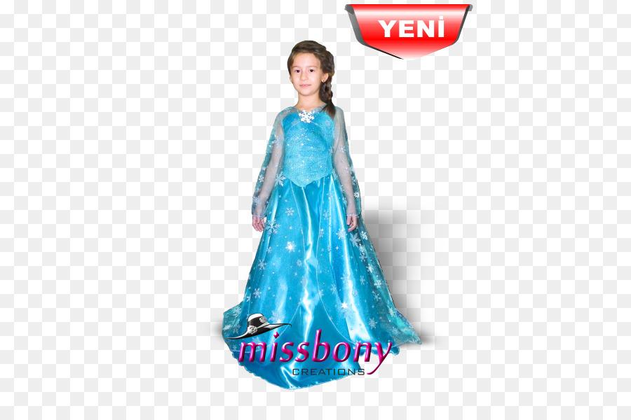 Elsa Gown Costume The Snow Queen Dress - elsa png download - 500*600 ...