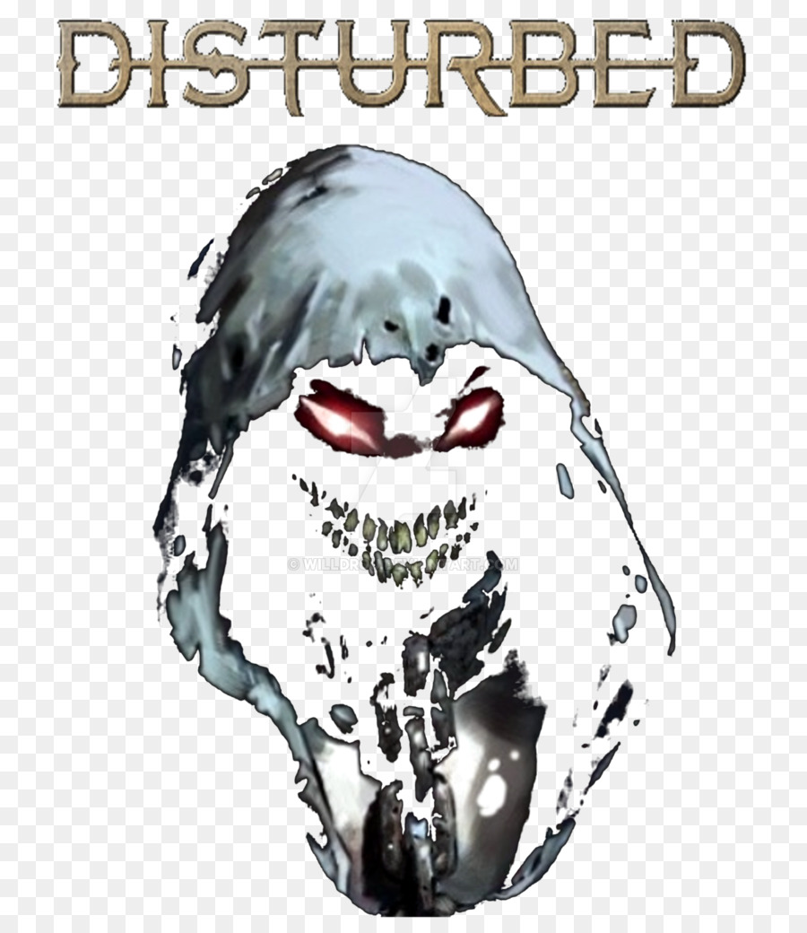 Disturbed ten thousand fists immortalized face nose png