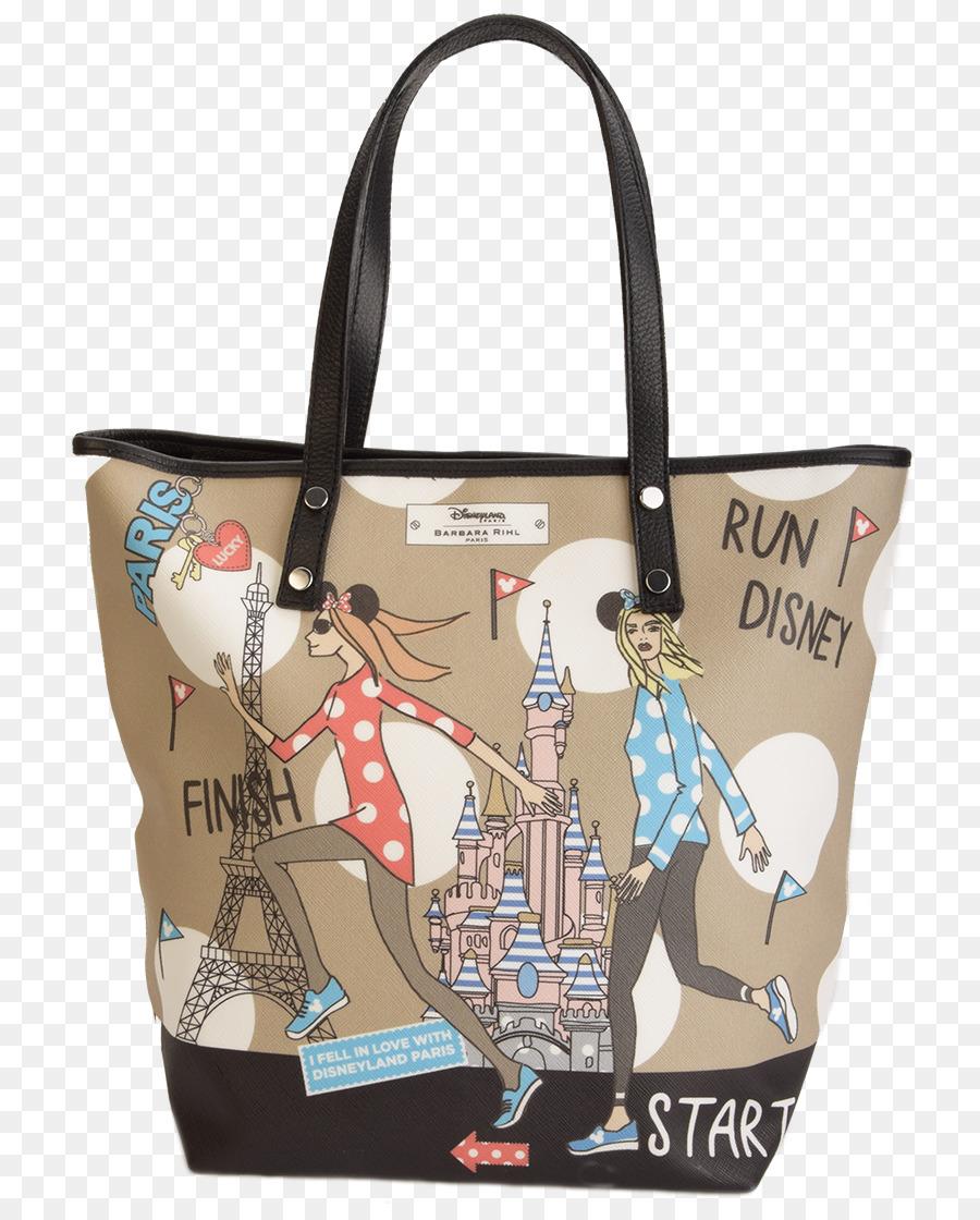 Tote Bag Disneyland Paris Barbara Rihl Brown Marie Claire Rundisney 800 1105 Transprent Png Free Handbag