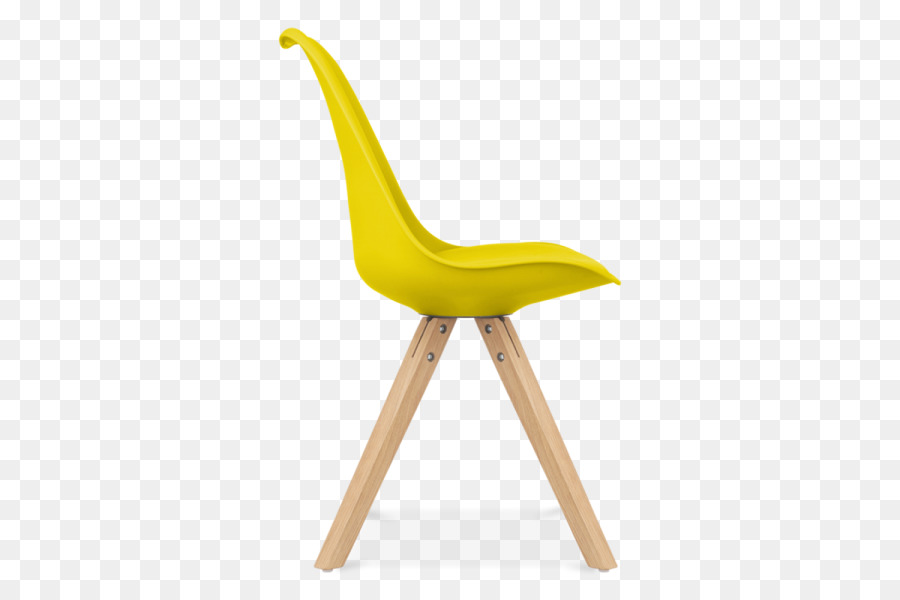 Eames Lounge Chair Charles And Ray Eames Furniture Dining Room   Yellow  Chair