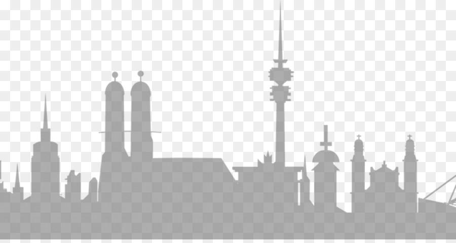 Munich Skyline Frankfurt Wall Decal Tattoo Washington Dc Png 1200 630 Free Transpa