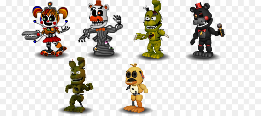 Fünf Nächte im Freddy s 2 Animatronics Aktion & Spielzeug