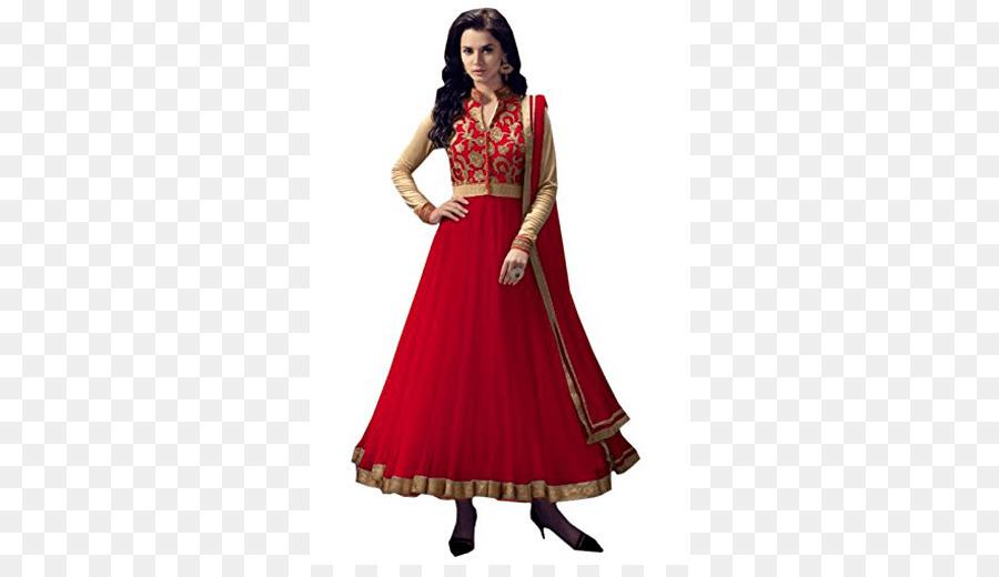 Anarkali Salwar Suit Shalwar kameez Dress Clothing - suit png ...