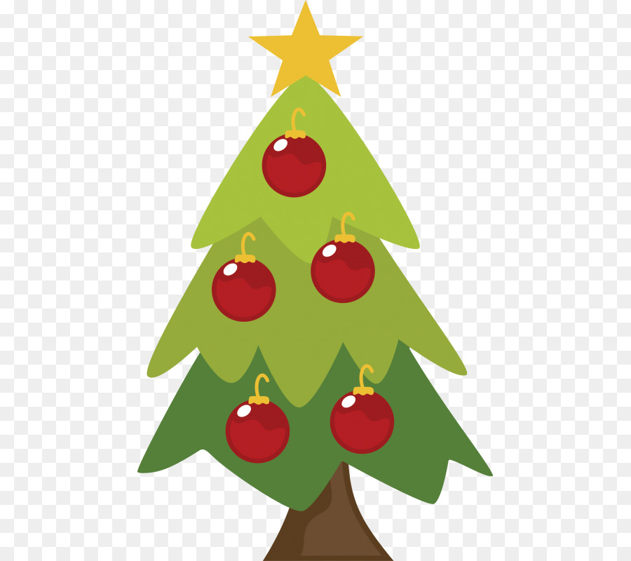 Christmas tree Gift Christmas ornament Clip art - christmas tree png ...