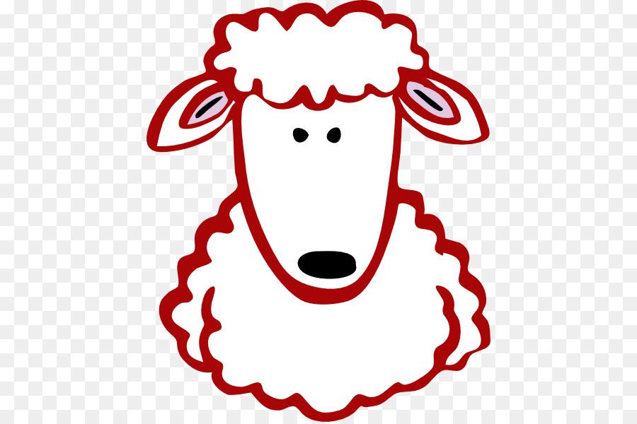 Oveja Cordero y carne de oveja Cabra Clip art - león Rojo png dibujo ...
