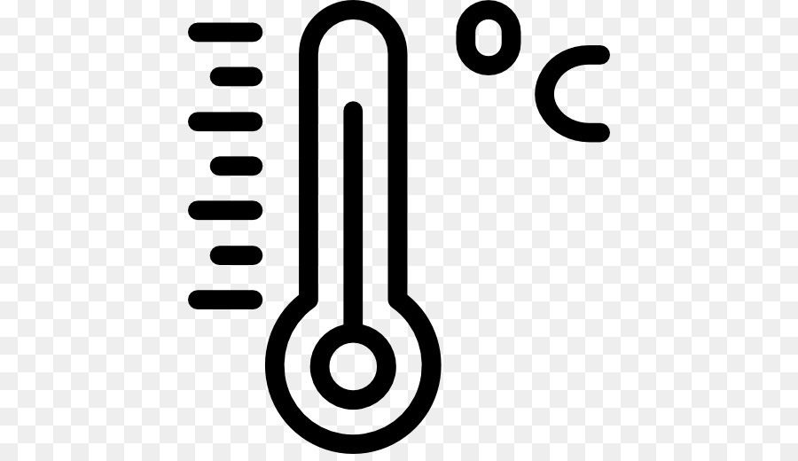degree symbol celsius temperature thermometer symbol png download