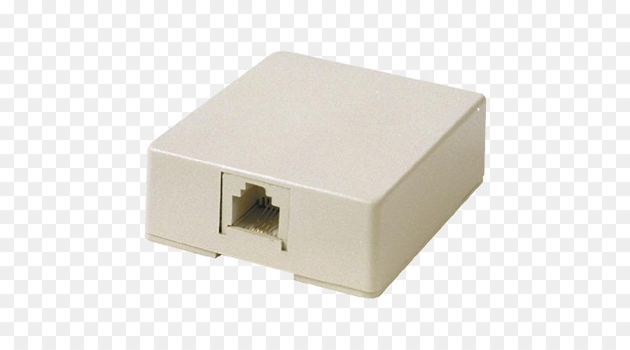 Telefon-Stecker Telefon-Anschluss DSL-filter Elektrischer Anschluss ...