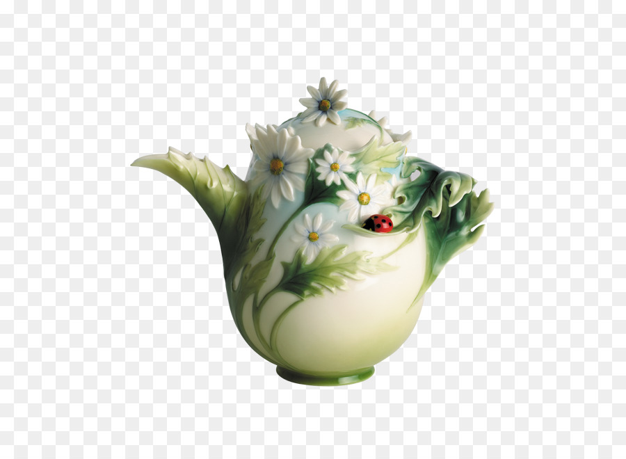 Franz Porcelains Teapot Teacup Vase Vase Png Download 645645