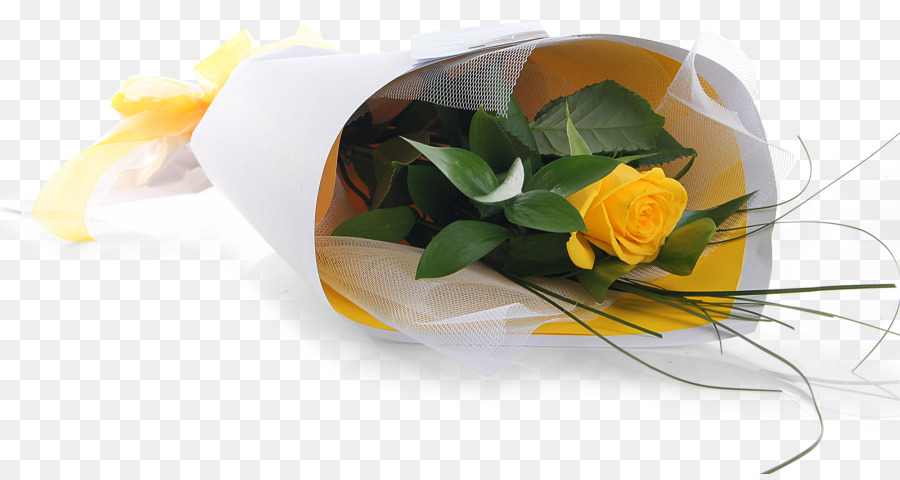 Floral Design Flower Bouquet Cut Flowers Yellow Rose Flower Single