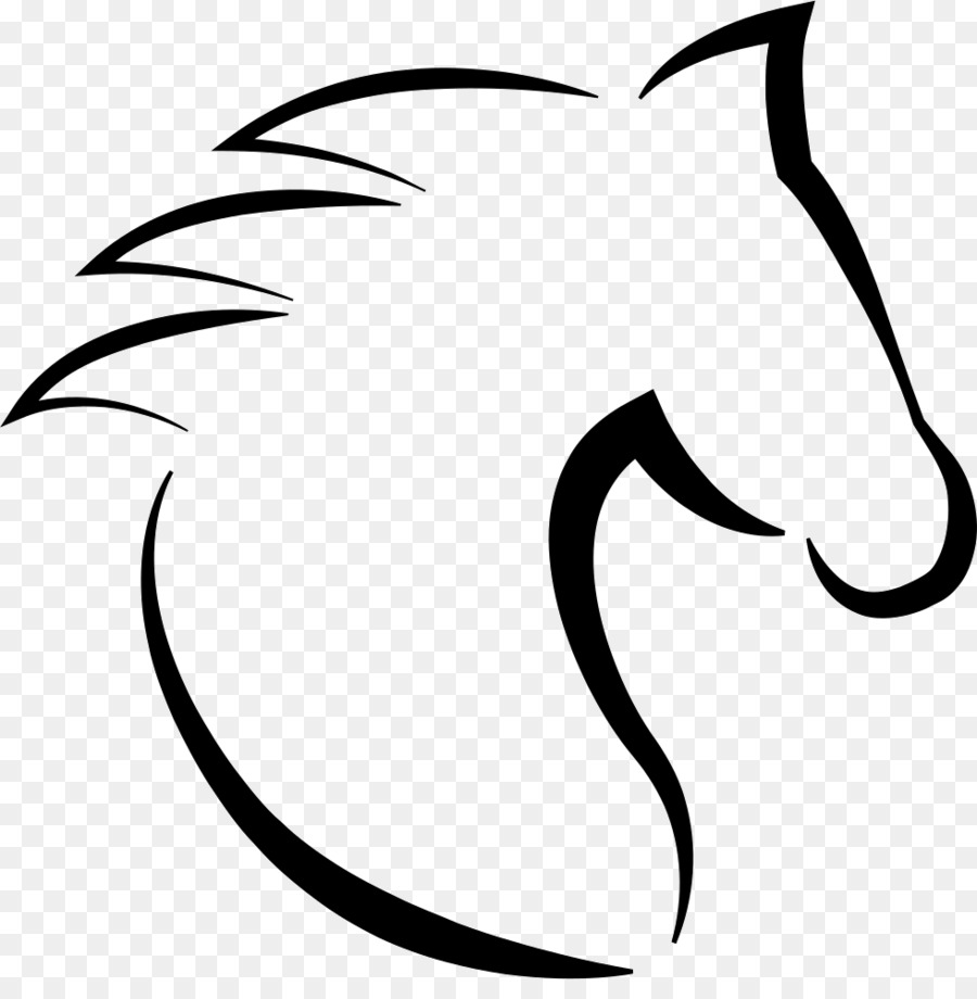Horse Template Drawing Horse Png Download 980982 Free