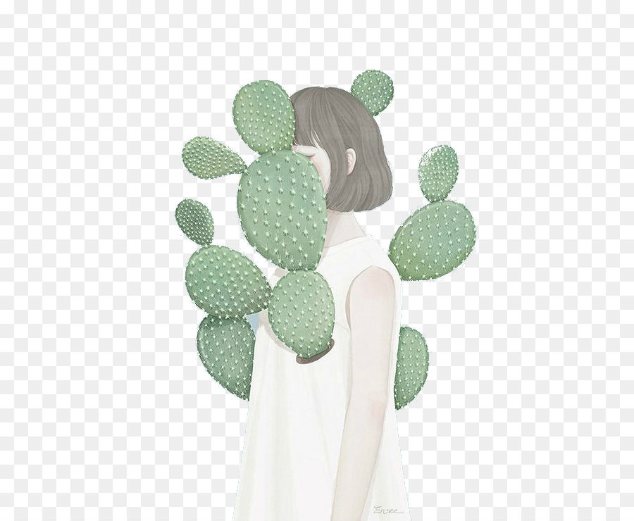Cactaceae Succulent Plant Drawing Cactus Garden   Others