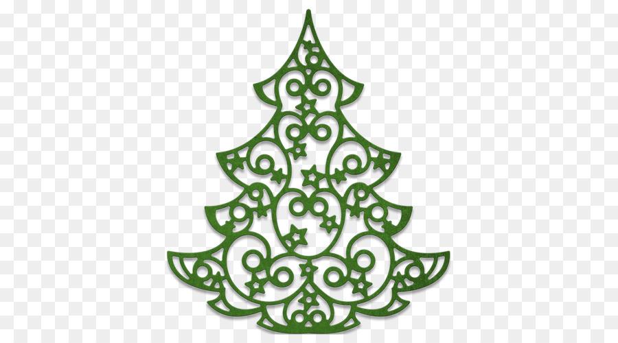 Christmas Tree Cheery Lynn Designs Quilling Silhouette Big Tree