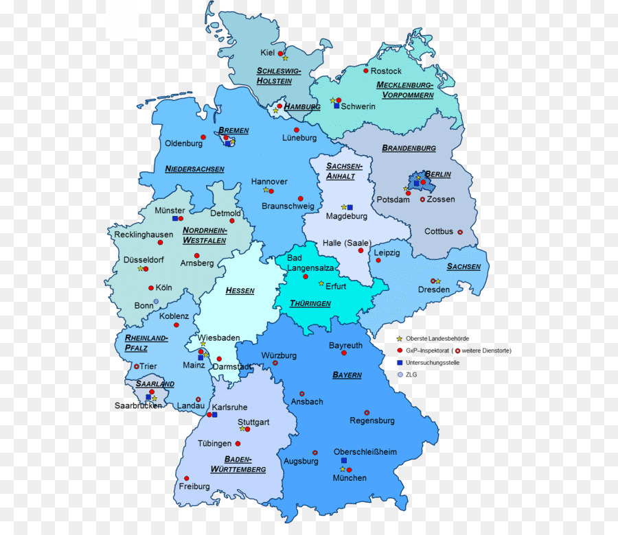 States of Germany North German Confederation United States Map ...