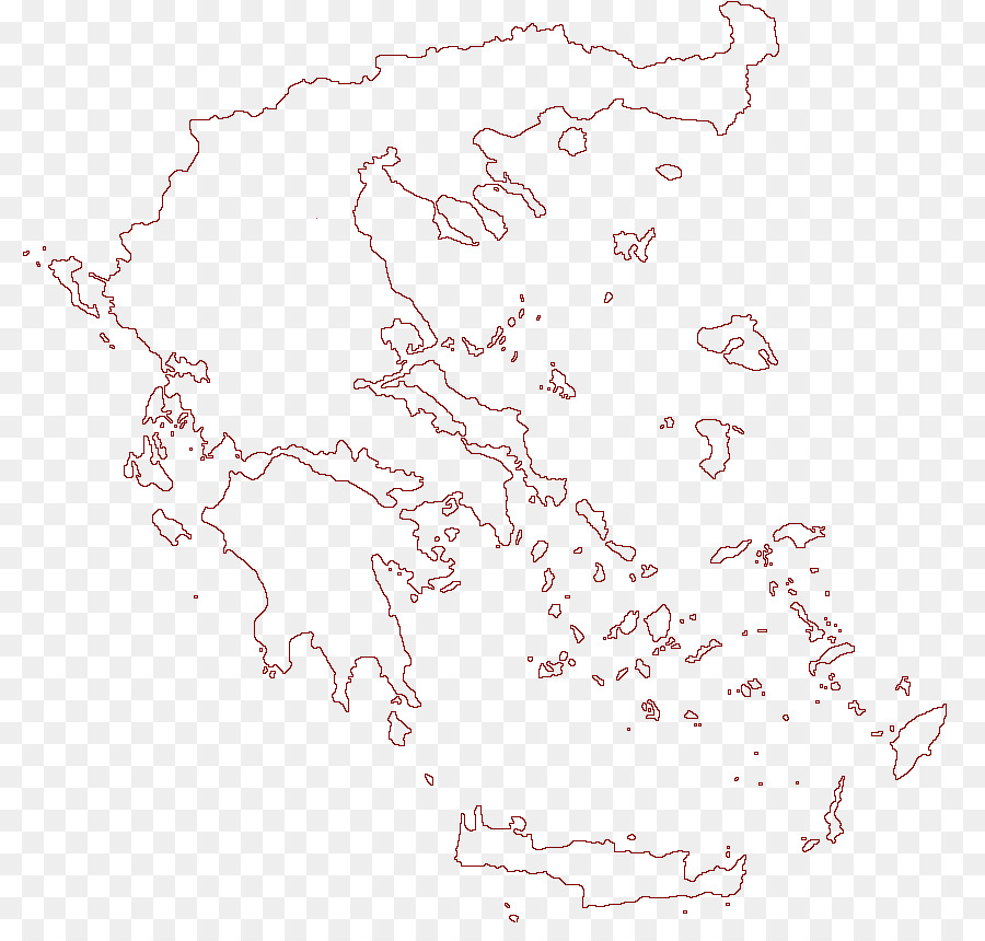 Blank Map Ancient Greece Amphipolis Contour Line Map Png Download