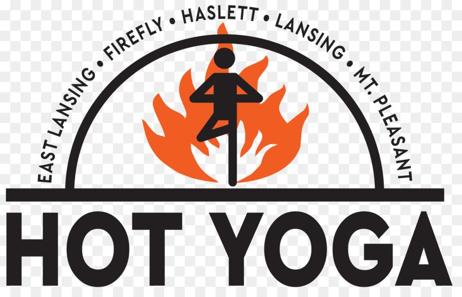 Haslett Hot Yoga Lansing Mount Pleasant Haslett Road - Hot logo png ...