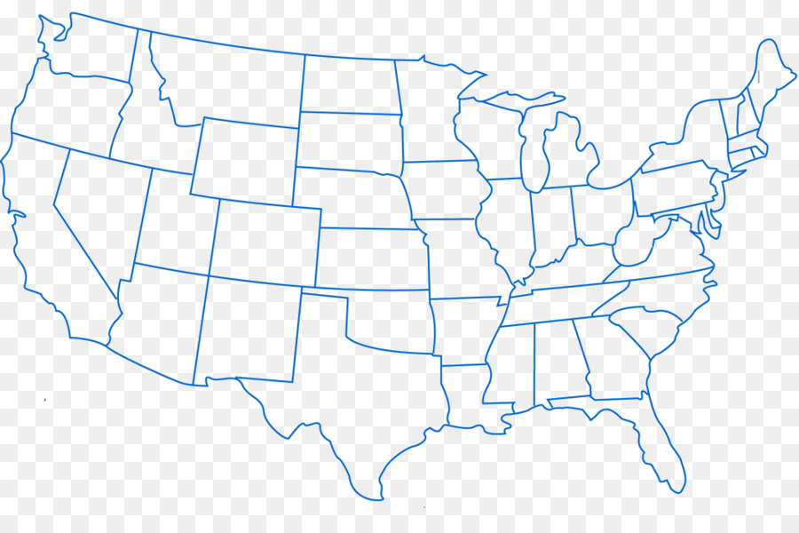 Blank map Western United States U.S. state World map - map png ...