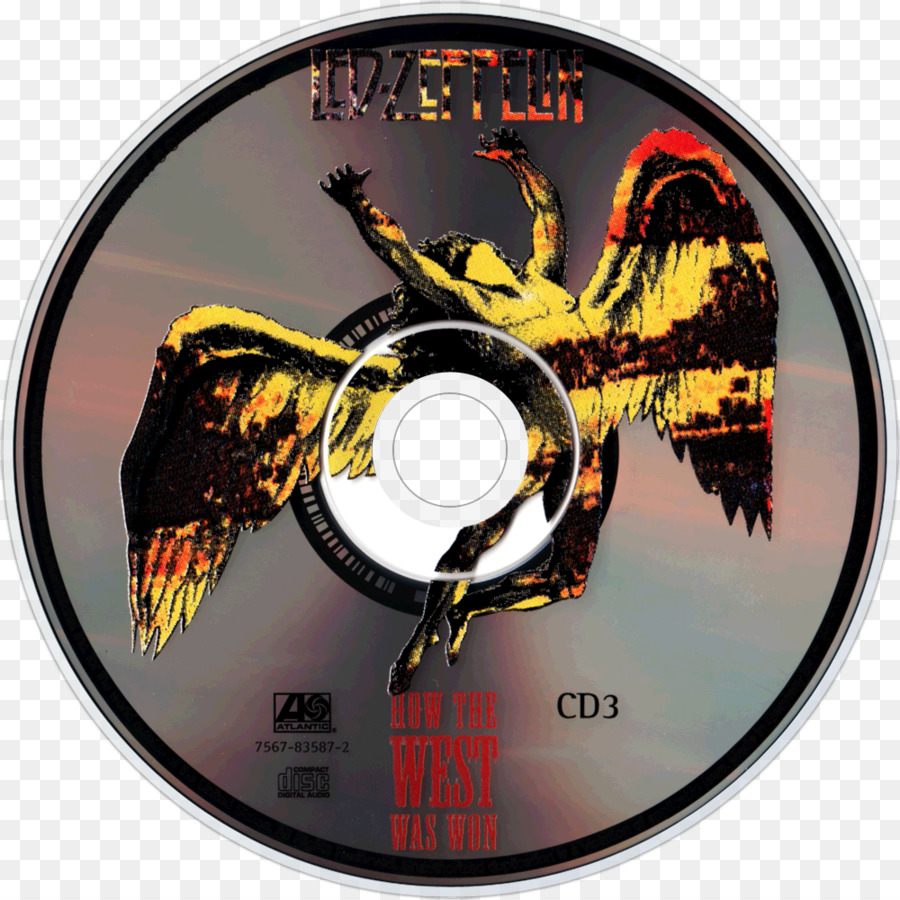 Compact Disc Disk Storage   Led Zeppelin