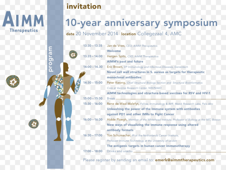 Symposium Academic Conference Aimm Therapeutics Therapy Science