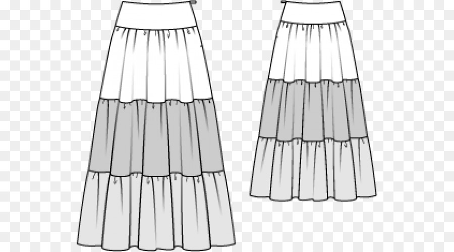 Dress Skirt Burda Style Sewing Pattern - dress Formatos De Archivo ...