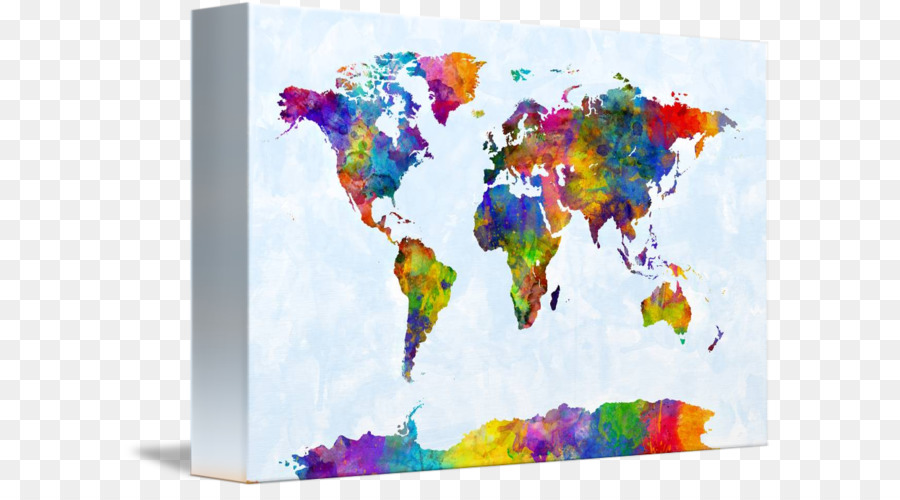 World map watercolor painting canvas world map watercolor formatos world map watercolor painting canvas world map watercolor gumiabroncs Images