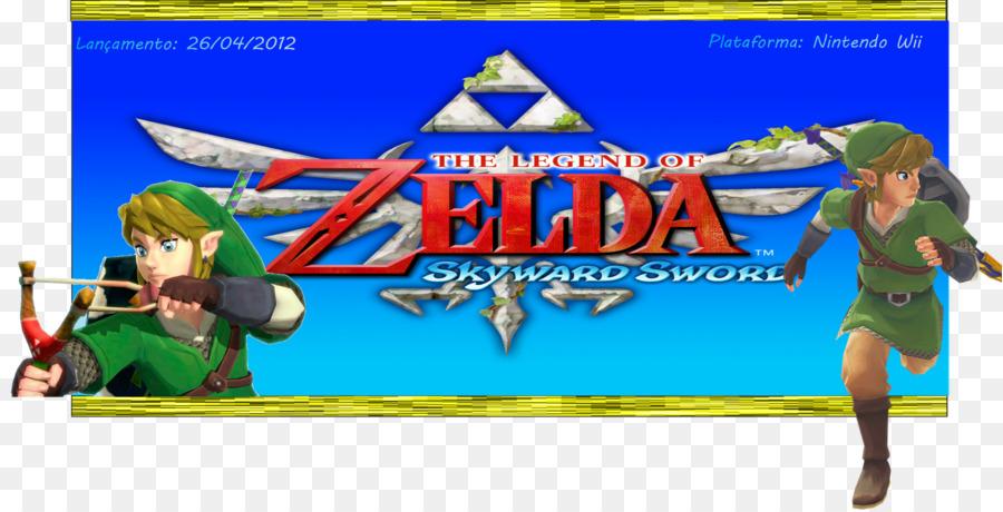 Legend Of Zelda Skyward Sword Games png download - 1600*815