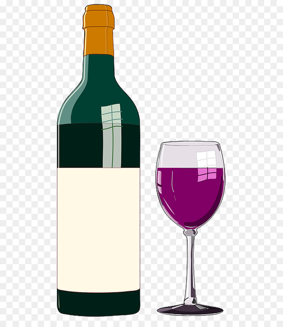 wine bottle clip art