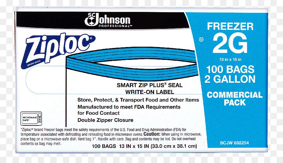 Plastic Bag Ziploc Zipper Storage Text Line Png