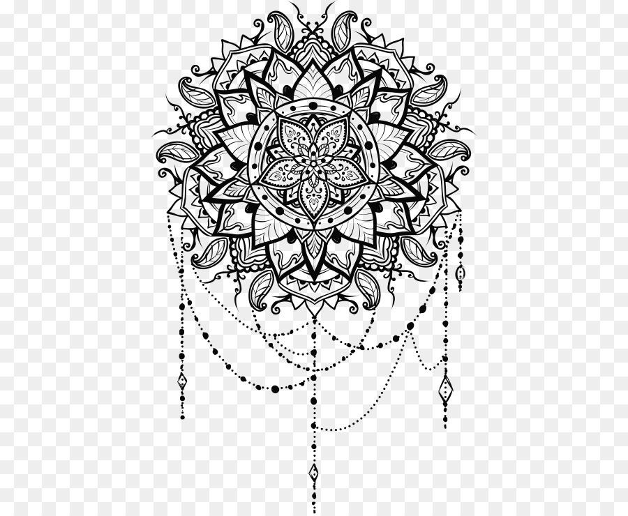 Mandala Coloring Book Mehndi Clip Art Others Png Download 468