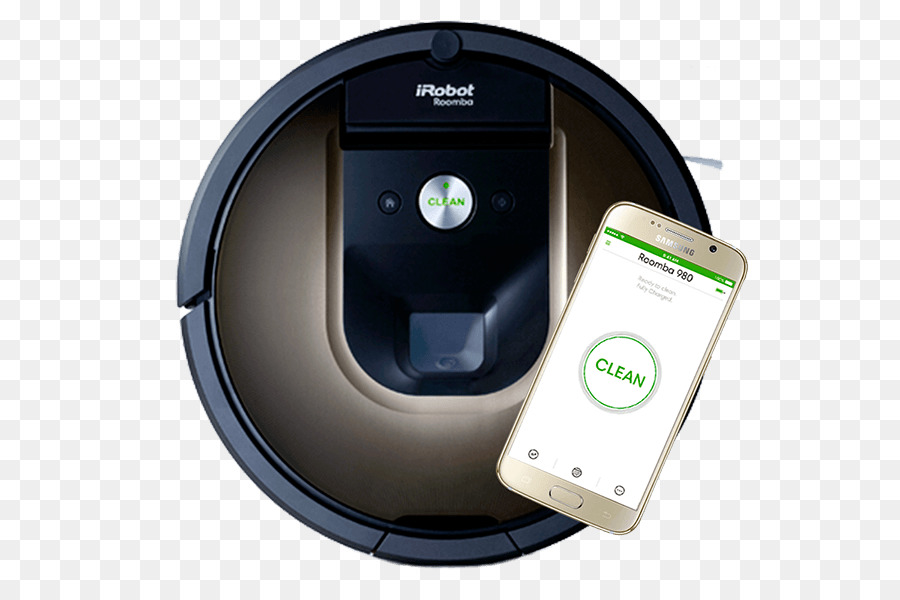 cbc7409a6be iRobot Roomba 980 Robotic vacuum cleaner - robot png download - 600 600 -  Free Transparent Roomba png Download.