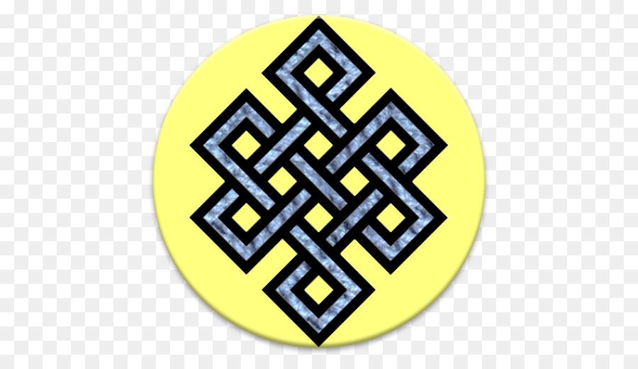 Endless Knot Tibetan Buddhism Karma Celtic Knot Buddhism Png