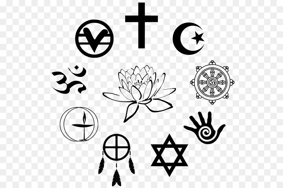 World Religions Religious Symbol Religious Denomination Symbol Png