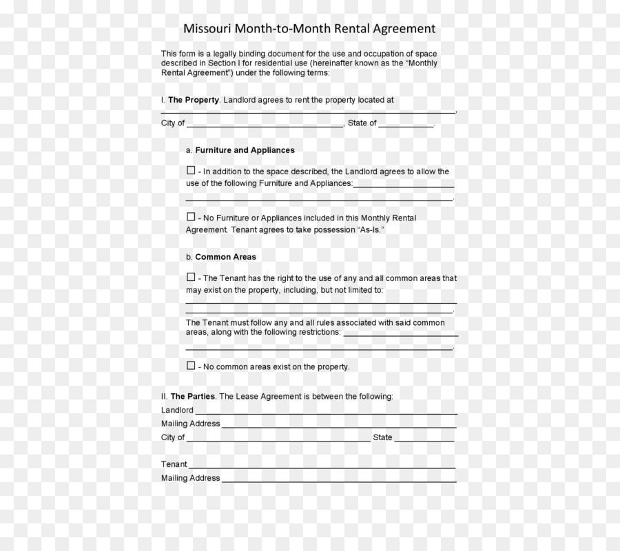 California Rental Agreement Lease Renting Contract House Png