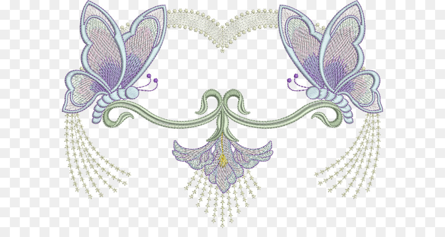 Butterfly Machine Embroidery Pattern Butterfly Png Download 650