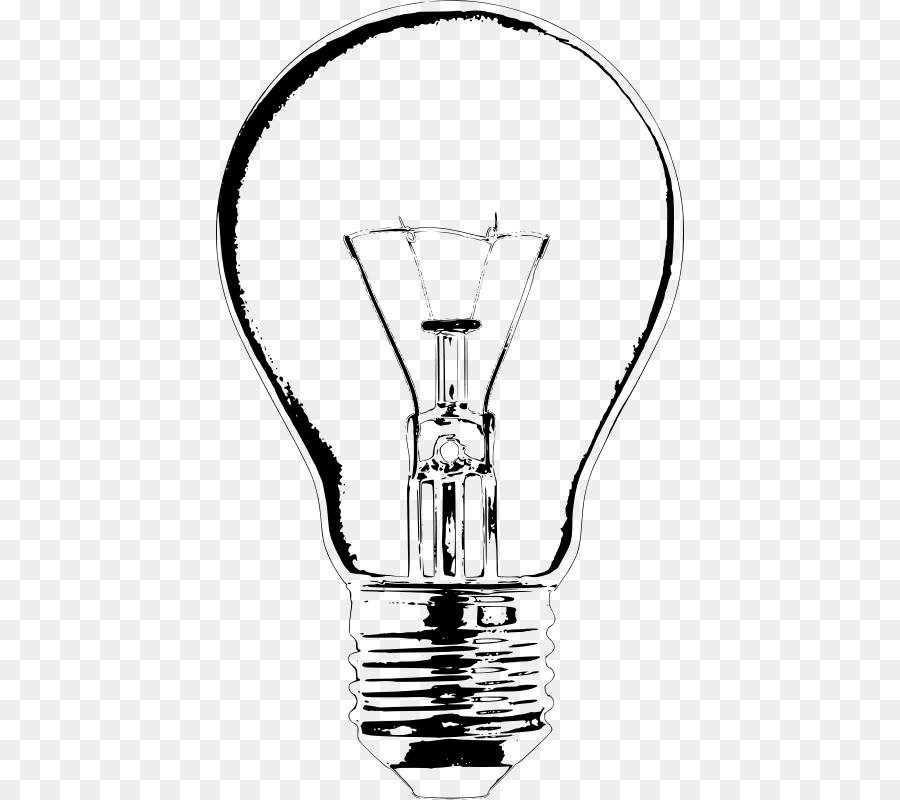 Incandescent Light Bulb Drawing Lamp Clip Art